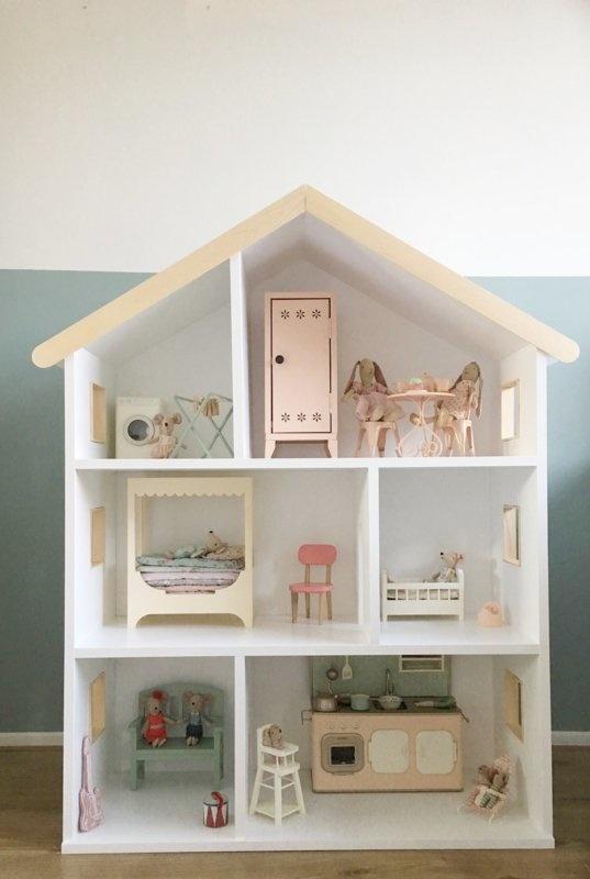 Maileg poppenhuis met houten details-2