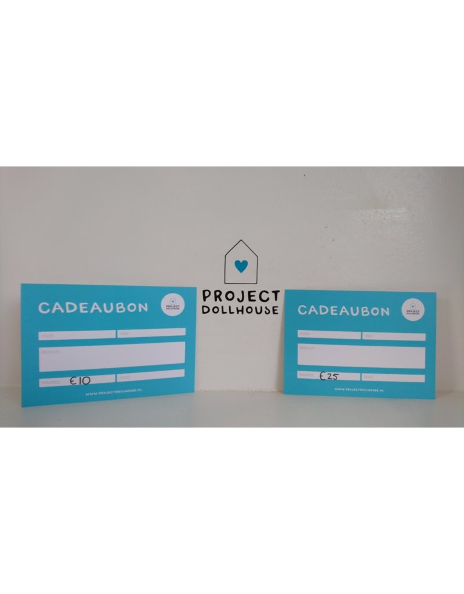 Project Dollhouse Gift Card