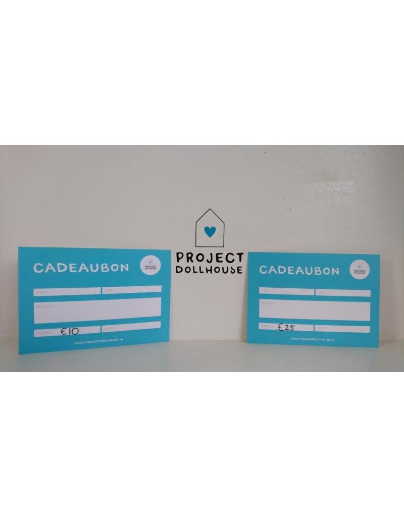 Project Dollhouse Cadeaubon