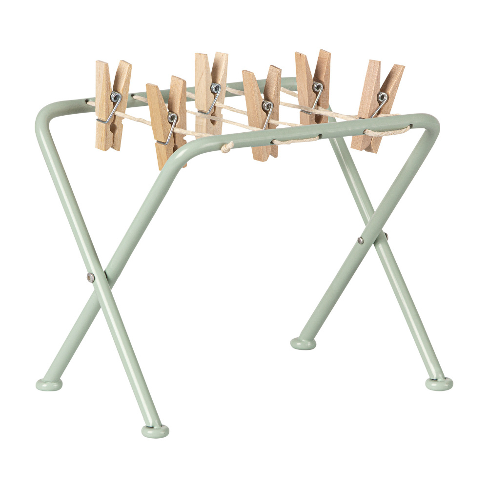 Drying rack with pegs-1
