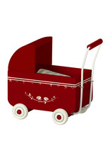 Maileg Pram Red My