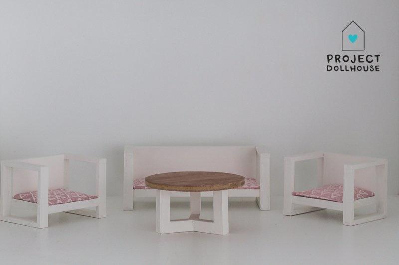 Modern Loungeset White-1