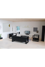 Project Dollhouse Modern Loungeset Black