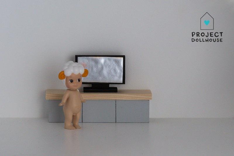 TV Furniture Grey-1
