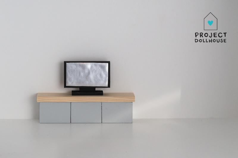 TV Furniture Grey-2