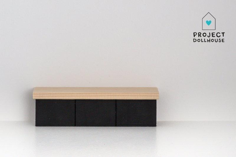 TV Furniture Black-2