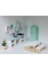 Project Dollhouse Koelkast Lichtgrijs