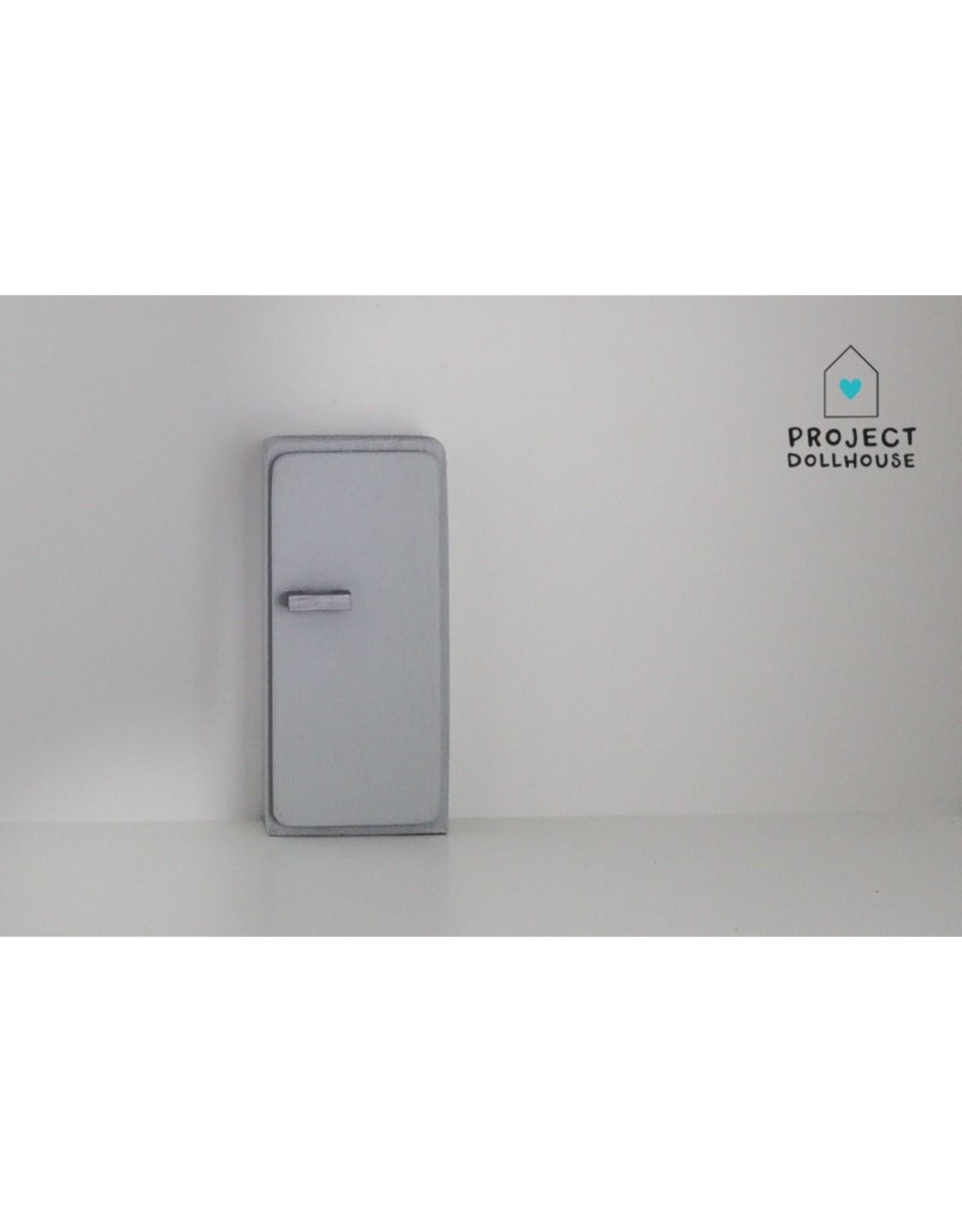 Project Dollhouse Refrigerator Grey