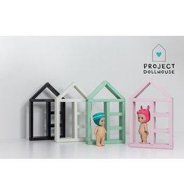 Project Dollhouse House Shaped Closet