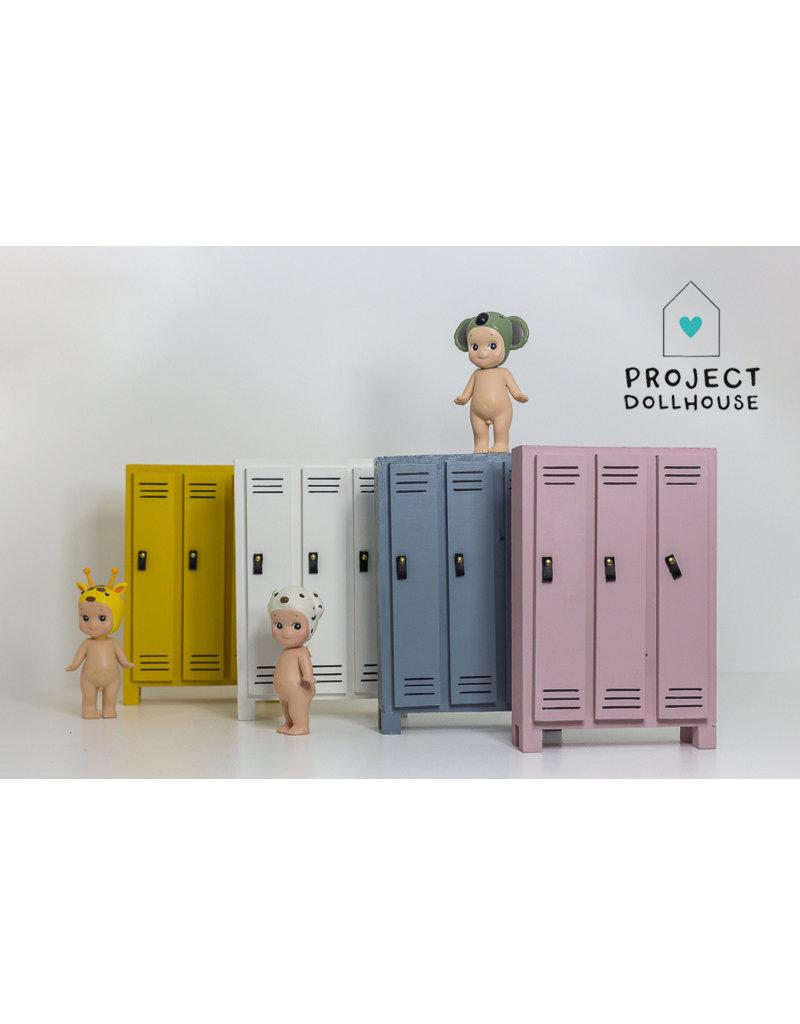 Project Dollhouse Locker Cabinet