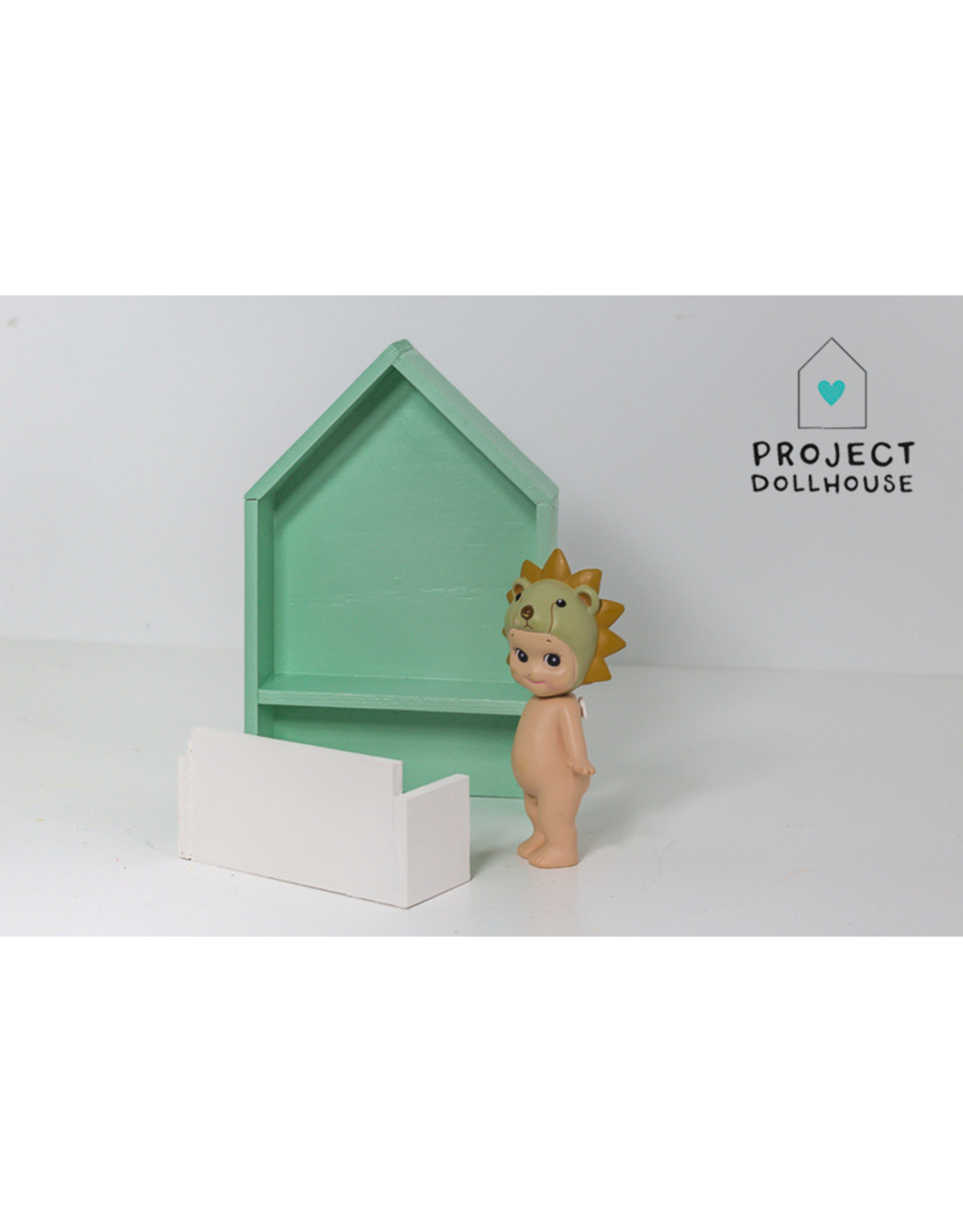 Project Dollhouse House Shaped Desk