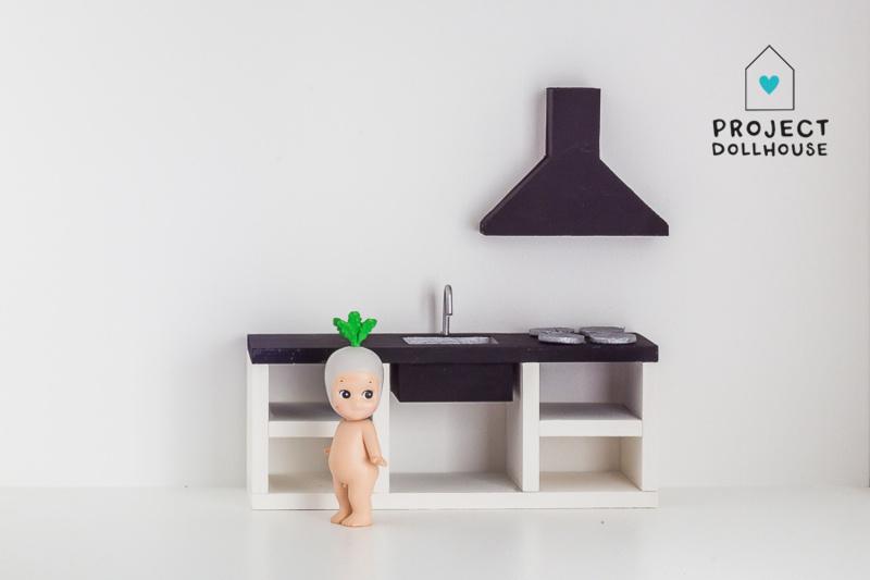 Modern Kitchen Black 18 cm-1