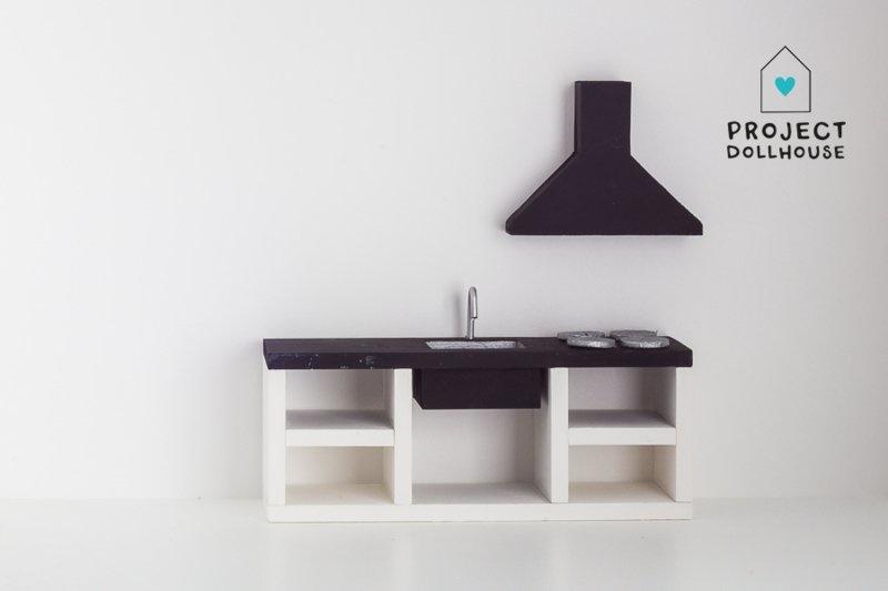Modern Kitchen Black 18 cm-2