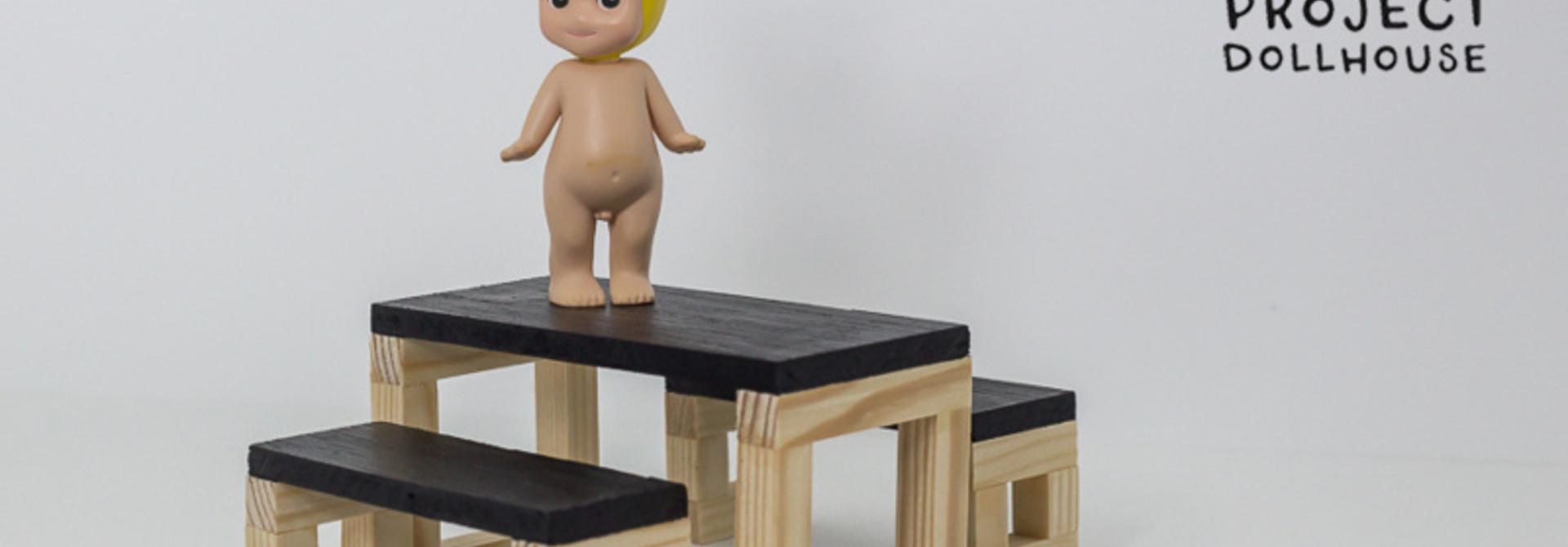 Modern Dining Table Set Wood