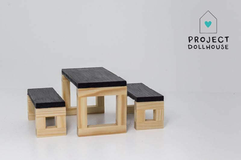 Modern Dining Table Set Wood-2