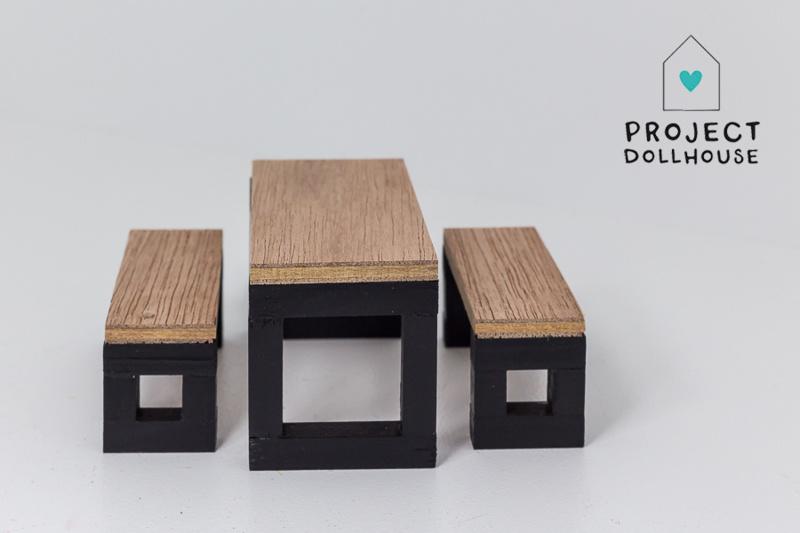 Moderne eettafel set zwart onderstel-2