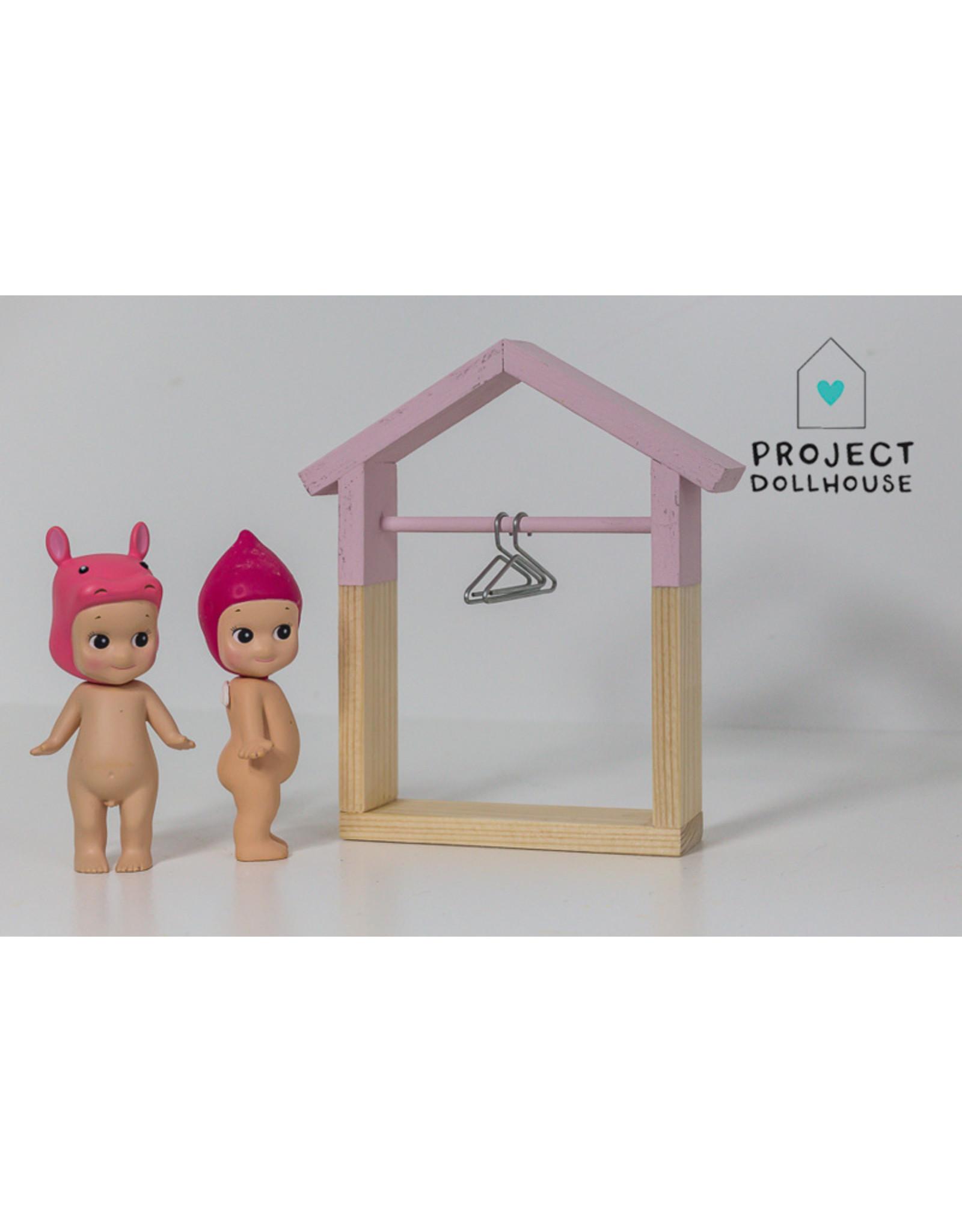 Project Dollhouse House Shaped Wardrobe