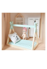 Project Dollhouse Tipi bed open model Mint green