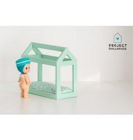 Project Dollhouse Bedhuisje Mintgroen