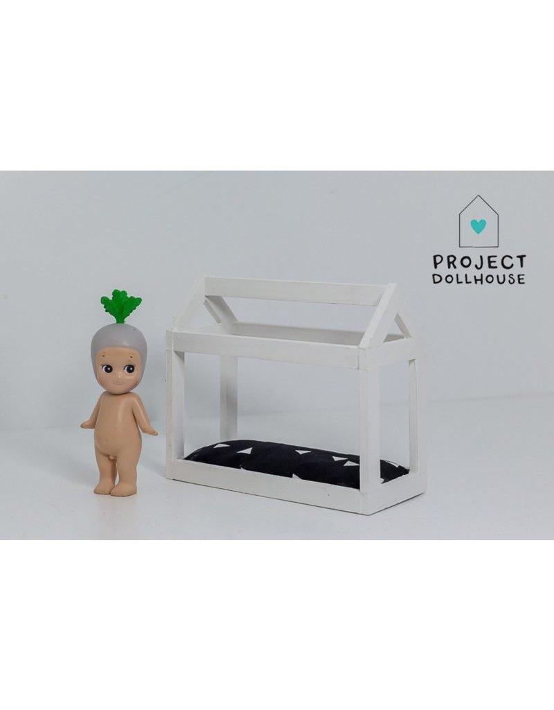Project Dollhouse Bedhuisje Wit
