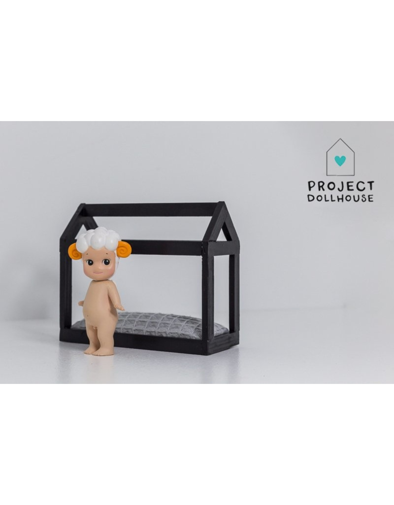 Project Dollhouse House shaped black