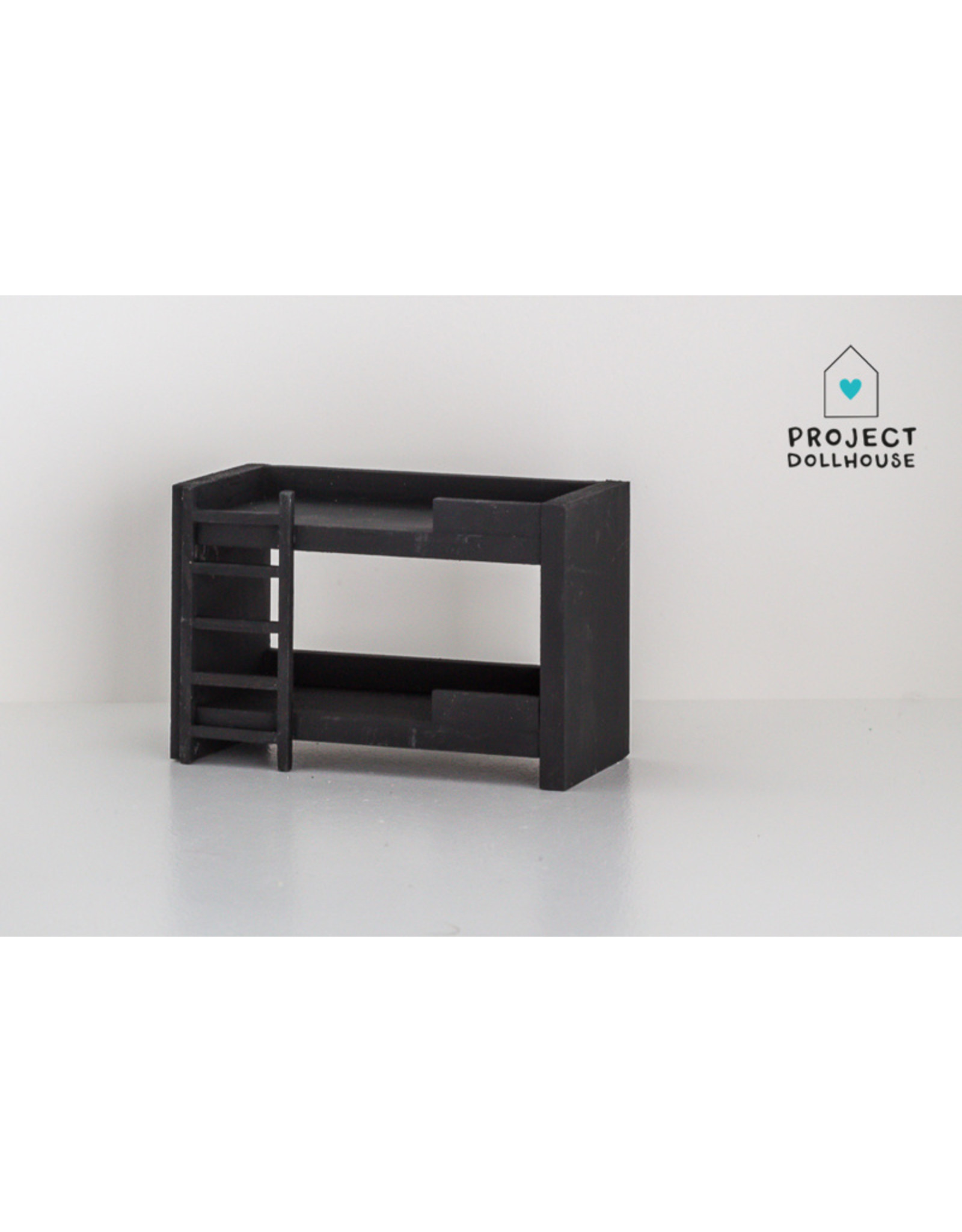 Project Dollhouse Bunkbed Black