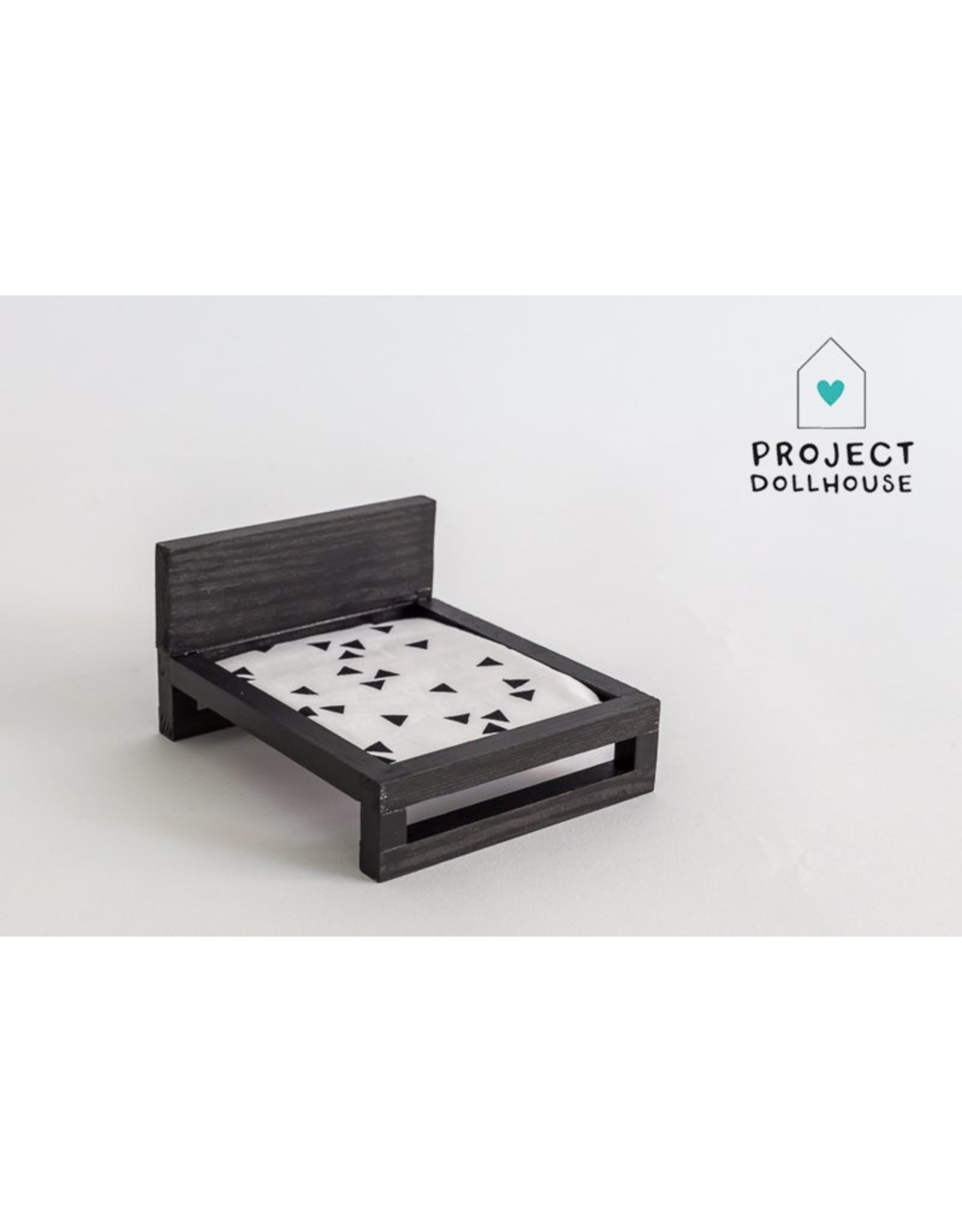 Project Dollhouse Tweepersoonsbed Zwart