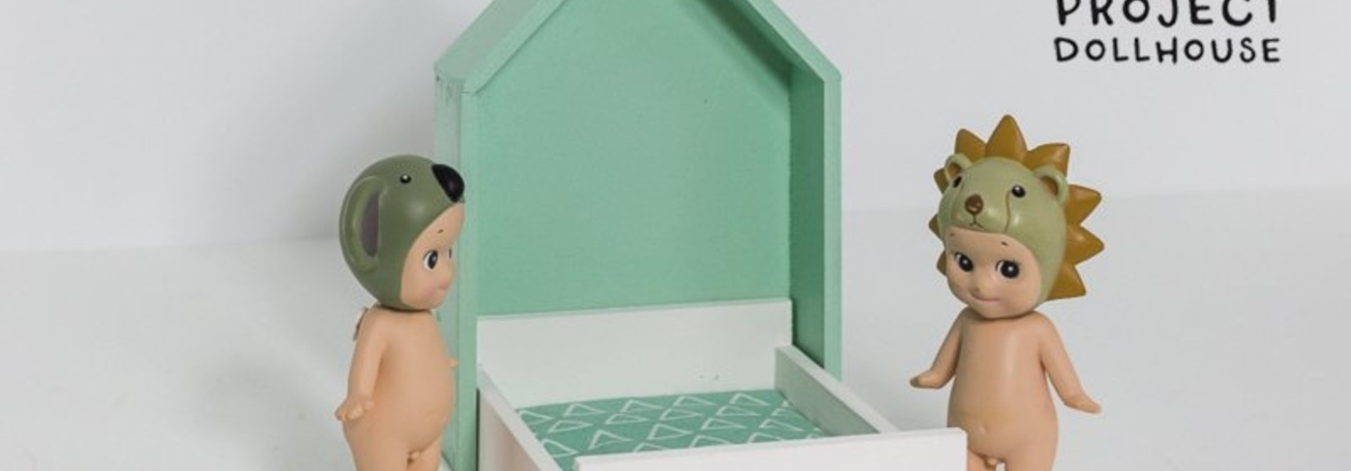 House Frame bed Mintgreen