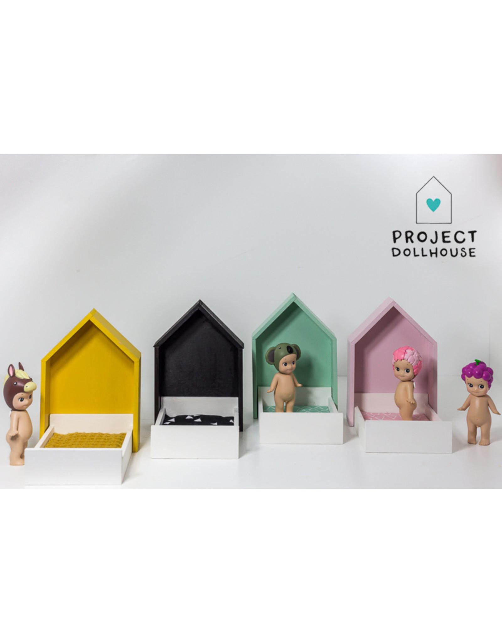 Project Dollhouse Huisjesbed Pastelroze