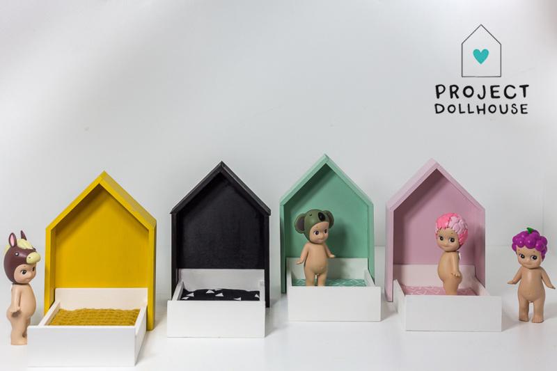 House Frame bed pastelpink-3