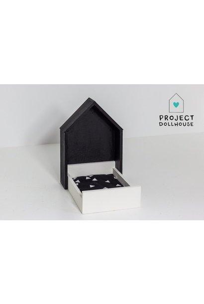 House Frame bed black