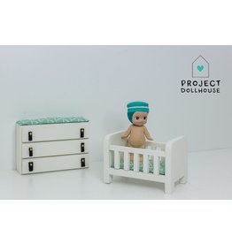 Project Dollhouse Bedstead and Changing Table