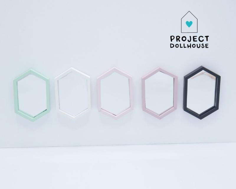 Hexagon Spiegel Lang Model-2