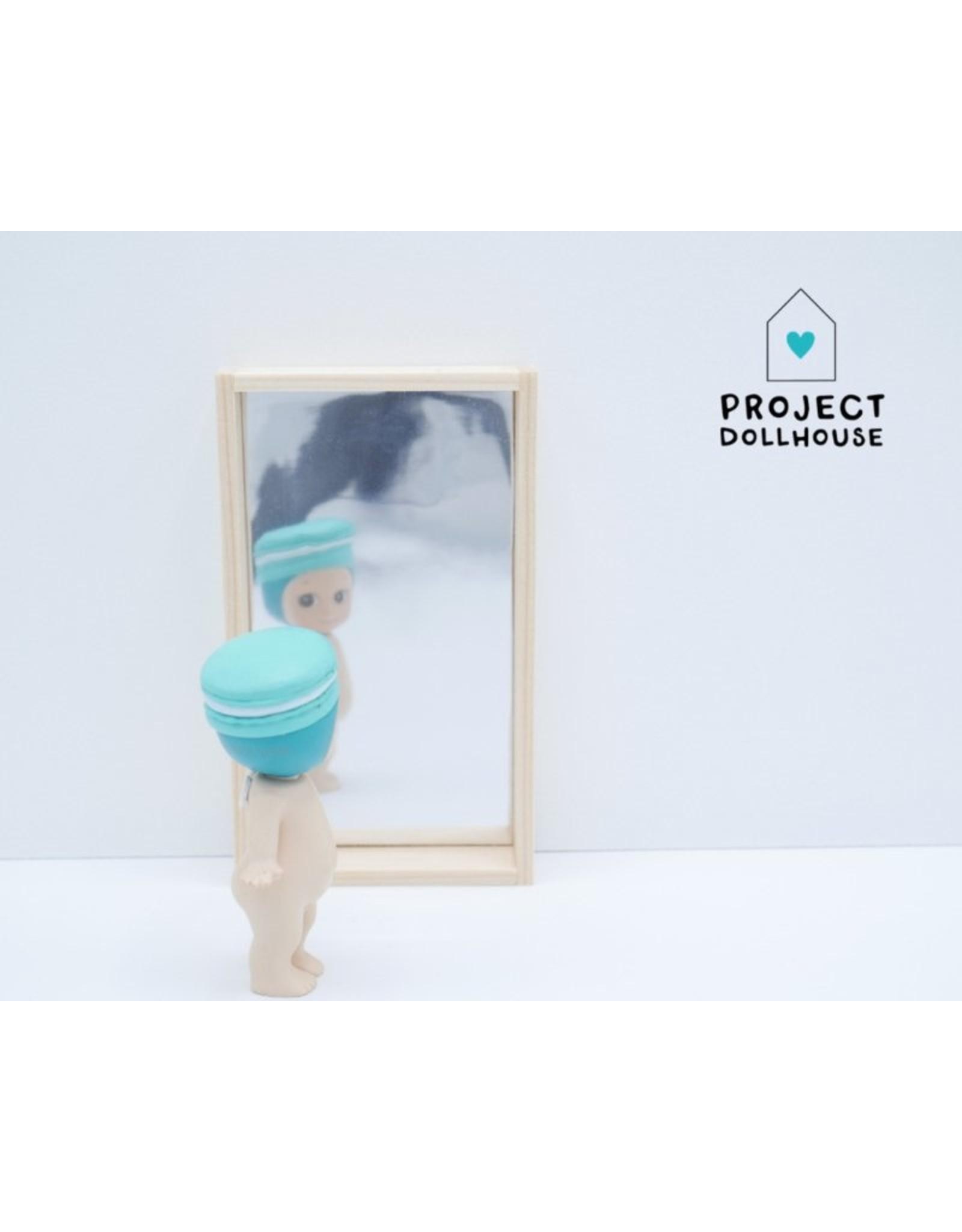 Project Dollhouse Houten Spiegel