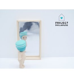 Project Dollhouse Wooden Mirror