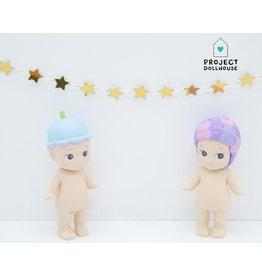 "Project Dollhouse Garland ""Golden stars"""