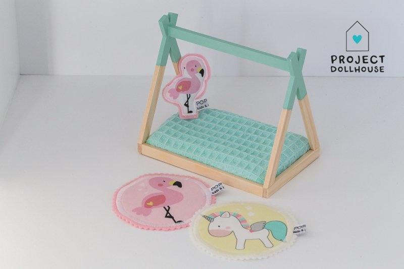 """Kussen """"Flamingo""""-1"""
