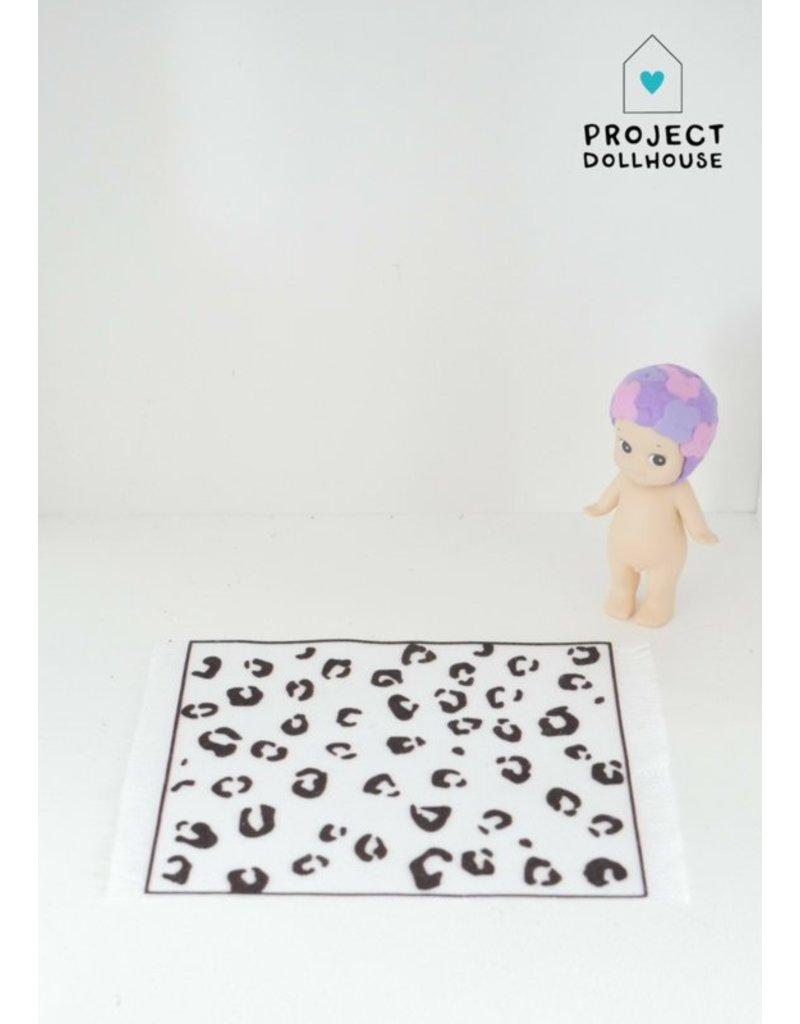 """Project Dollhouse Carpet """"panter"""""""
