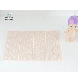 Project Dollhouse Carpet Salmon Print
