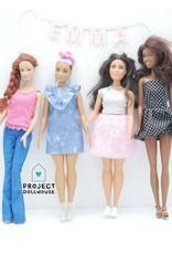 Project Dollhouse Naamslinger Barbie formaat