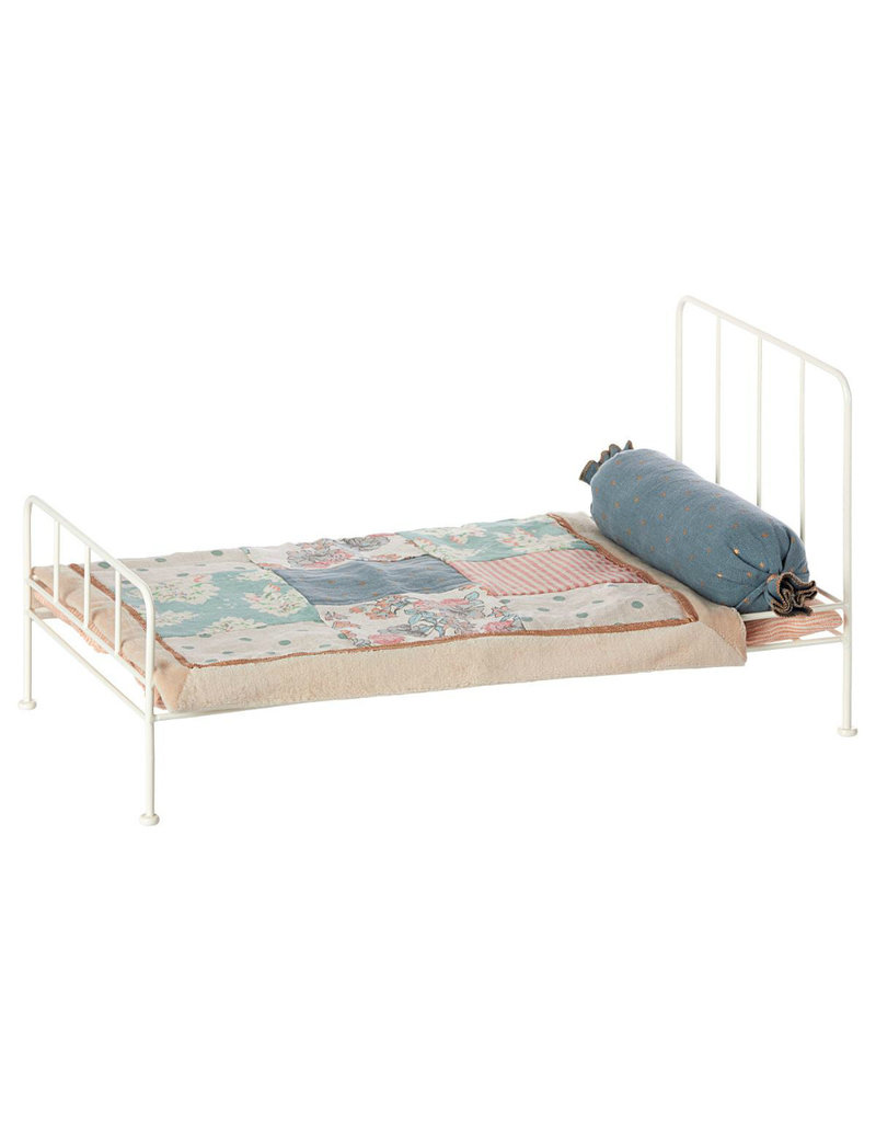 Maileg Metalen Bed Wit - Medium