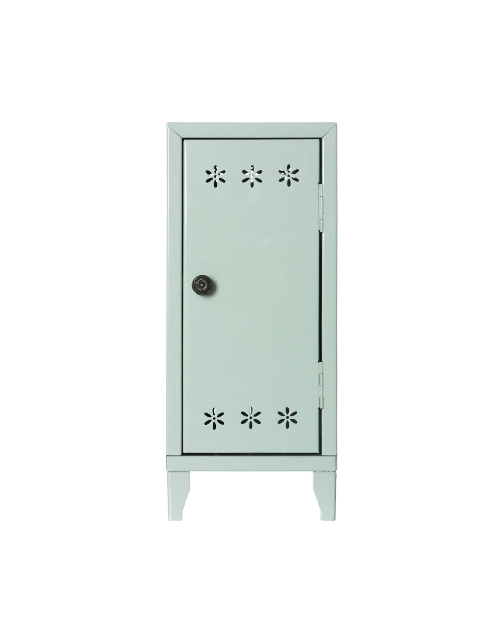 Maileg Locker with 3 Hangers Green