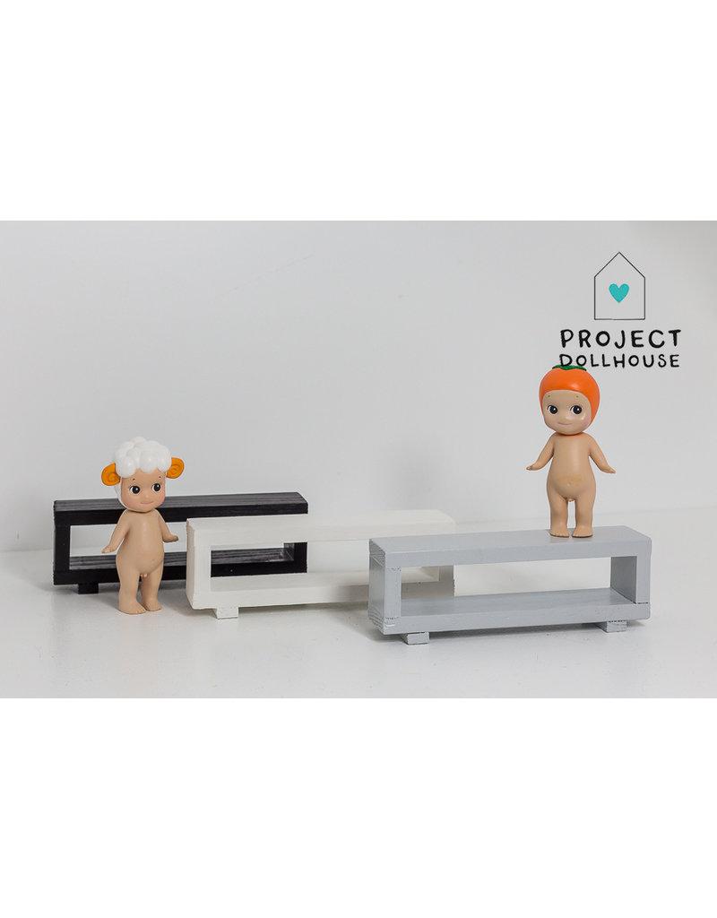 Project Dollhouse Tv Meubel Open Model