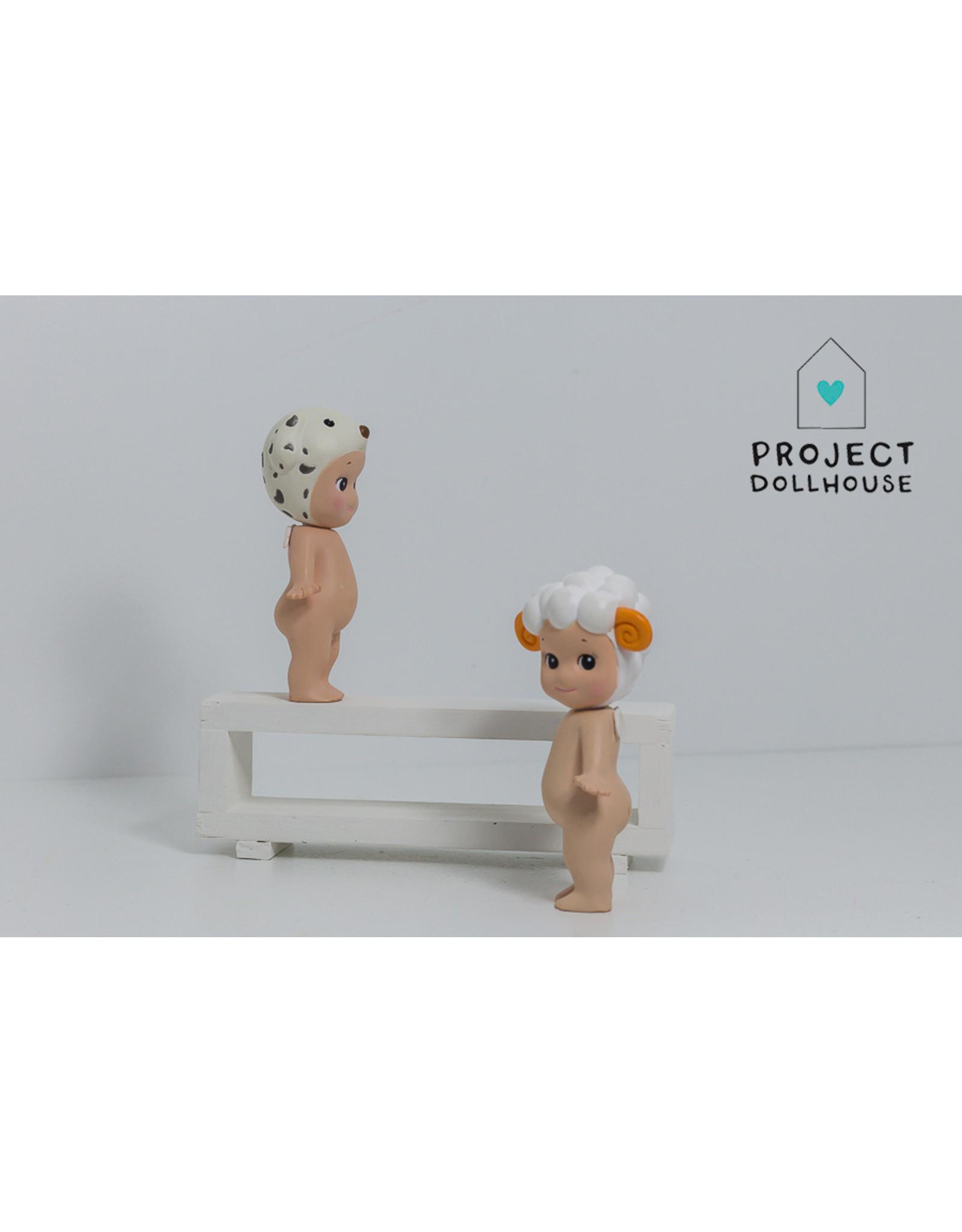 Project Dollhouse Tv Cabinet Open Model