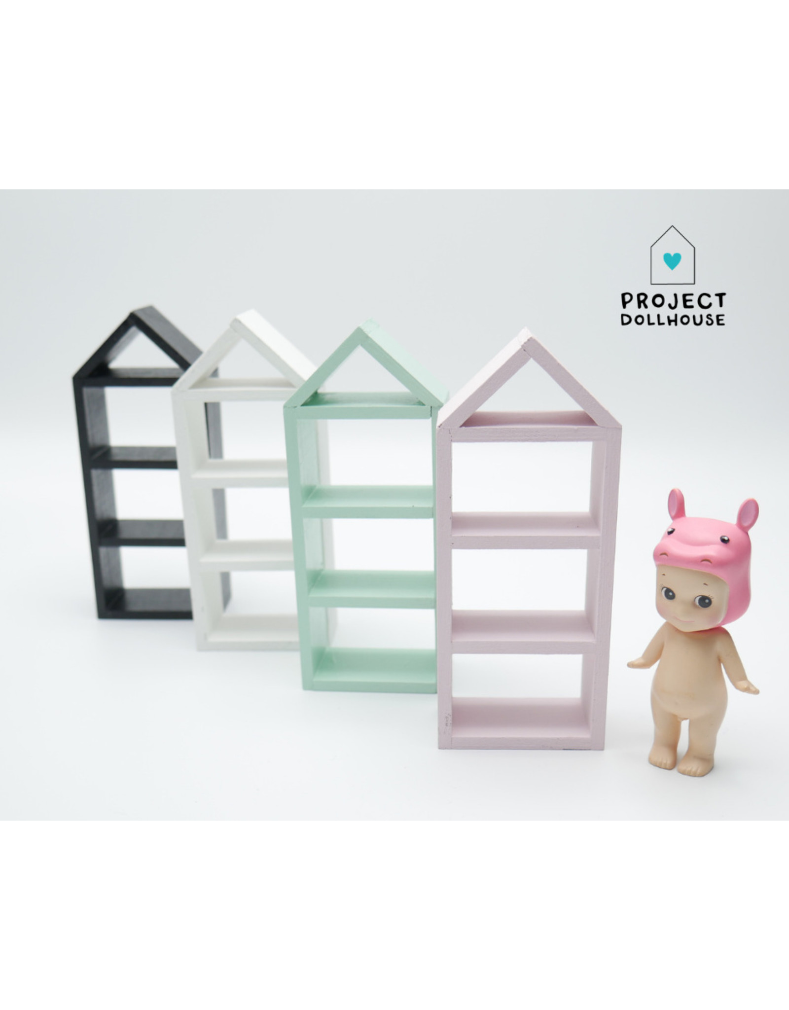 Project Dollhouse House Shaped Closet Small