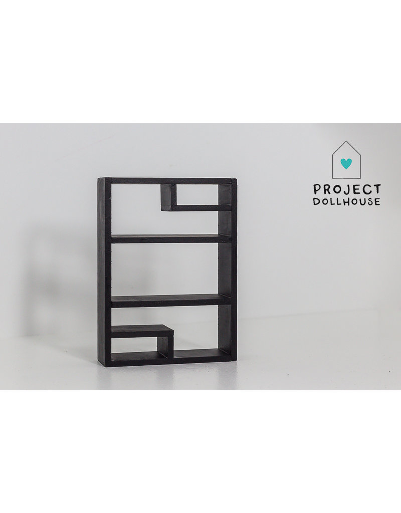 Project Dollhouse Industriële vakkenkast