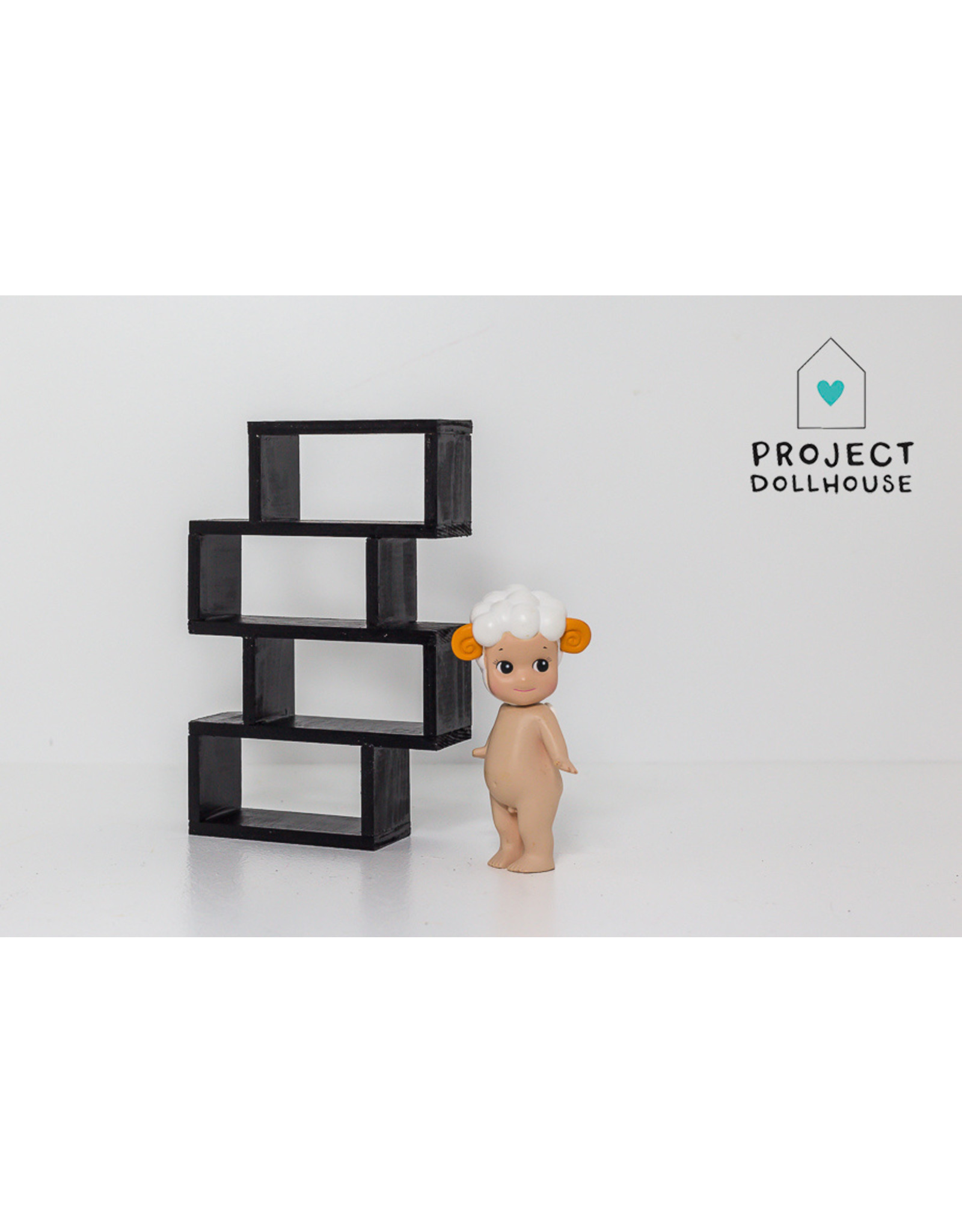 Project Dollhouse Cube Cabinet