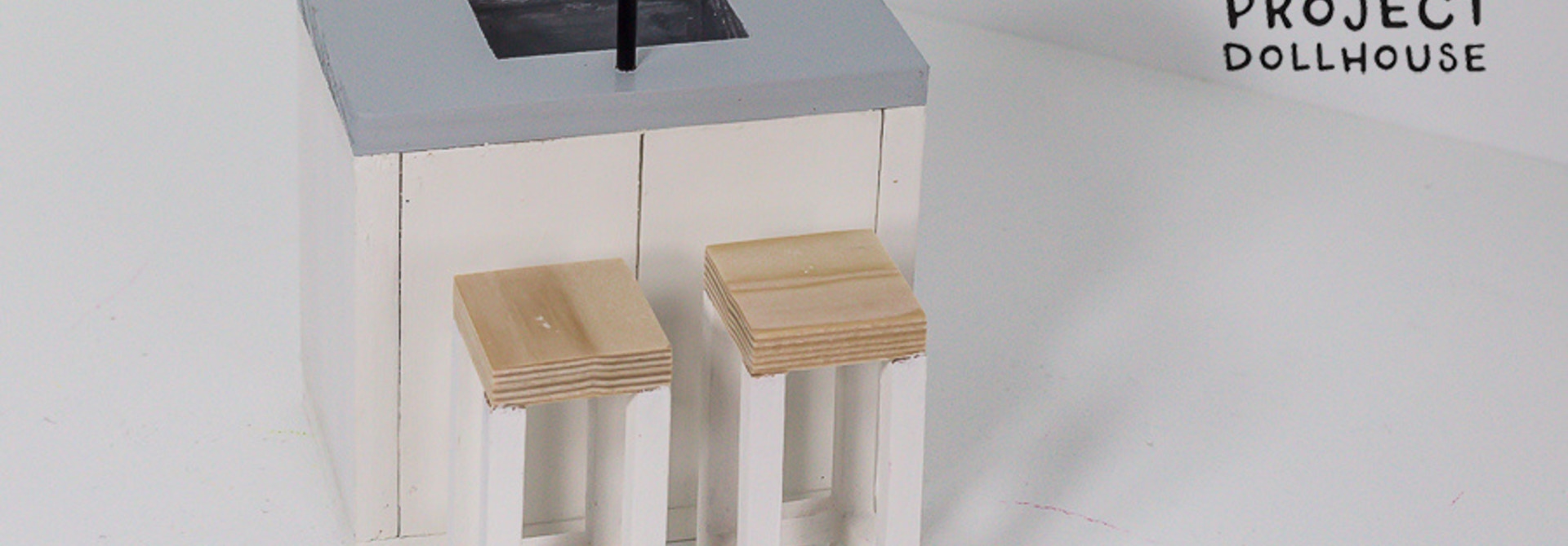 Modern Dining Table with Four Chairs