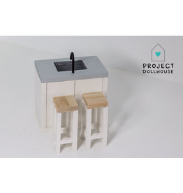 Project Dollhouse Keuken Eiland
