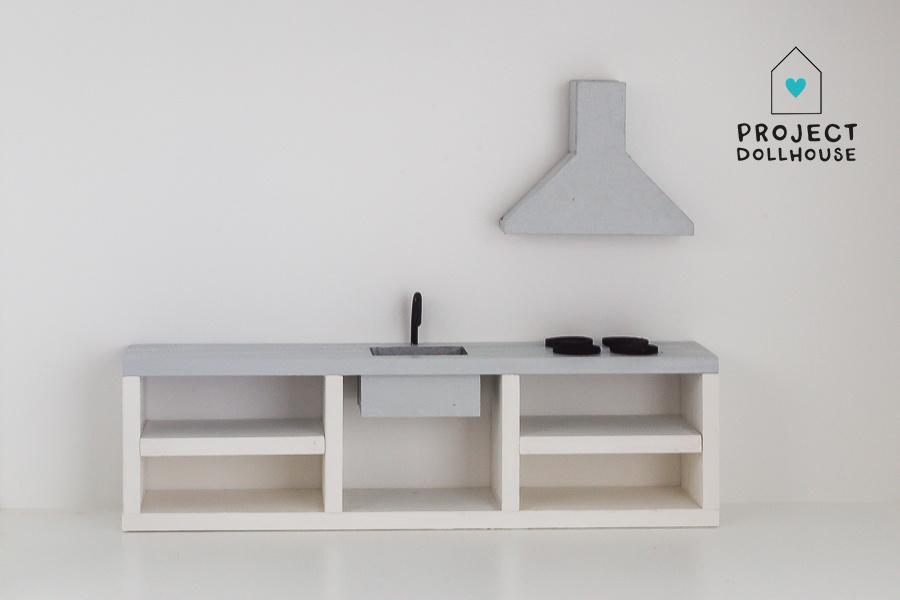 Keuken Betonlook 25 cm-1